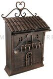 Почтовый ящик VU/2604 LUXURY RUSTIC MAIL BOX (614R) Бронза (заказная позиция)